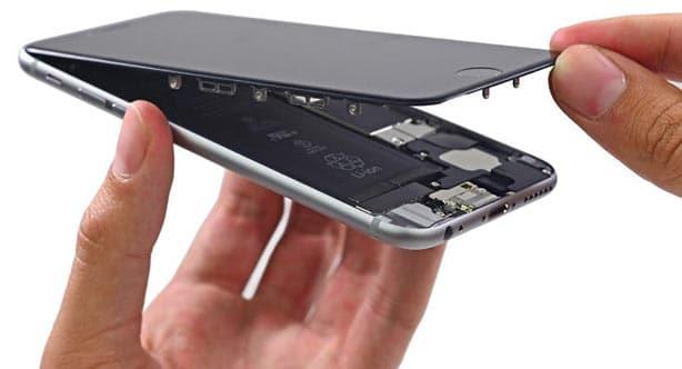 تعویض باتری گوشی ایفون
