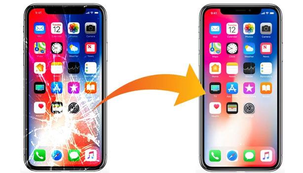 تعویض صفحه نمایش موبایل